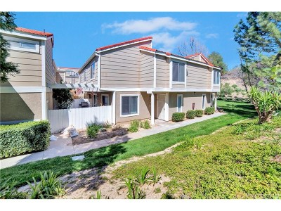 Castaic Condo/Townhouse For Sale: 31361 The Old Road #B