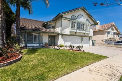 Simi Valley Single Family Home For Sale: 711 Verdemont Circle