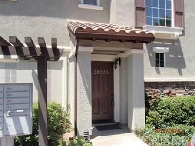 Valencia Condo/Townhouse For Sale: 28225 Canterbury Court