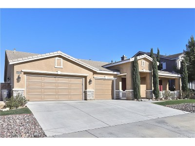 Lancaster Single Family Home For Sale: 42510 Valley Vista Drive