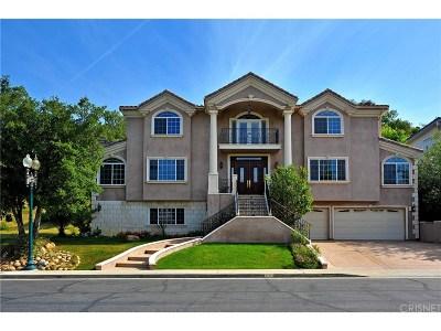 Chatsworth Single Family Home For Sale: 22436 North Summit Ridge Circle