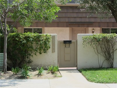 Chatsworth Condo/Townhouse For Sale: 10214 Larwin Avenue #4