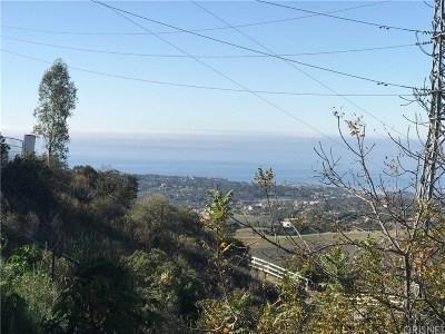 Malibu Residential Lots & Land For Sale: Escondido Trails