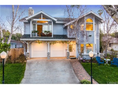 Woodland Hills Single Family Home For Sale: 22056 Viscanio Road