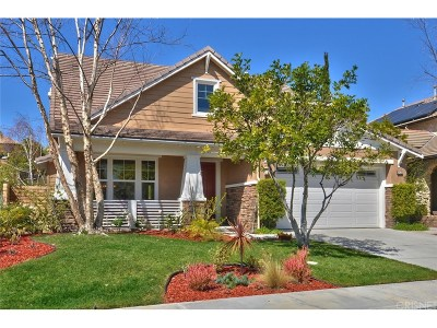Simi Valley Single Family Home For Sale: 3435 Sweetgrass Avenue