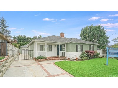Burbank CA Single Family Home Sold: $1,050,000