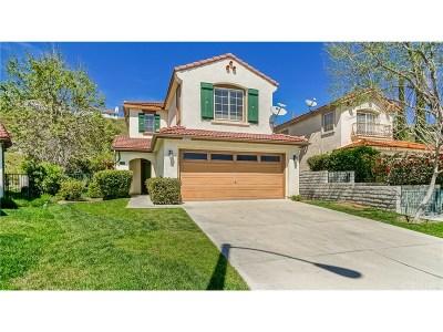 Stevenson Ranch Single Family Home For Sale: 26025 Topper Court