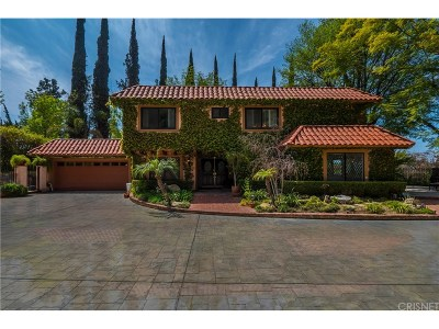 Woodland Hills Single Family Home For Sale: 20360 Wells Drive