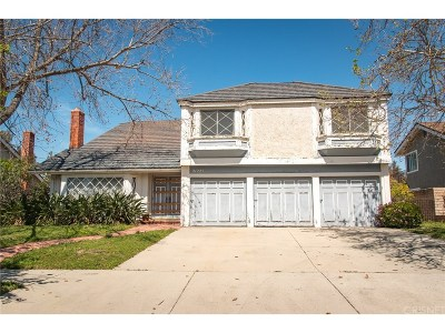 Chatsworth Single Family Home For Sale: 21225 Nashville Street