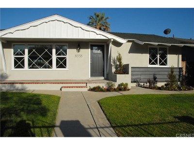 Canoga Park Single Family Home For Sale: 8558 Topanga Canyon Boulevard