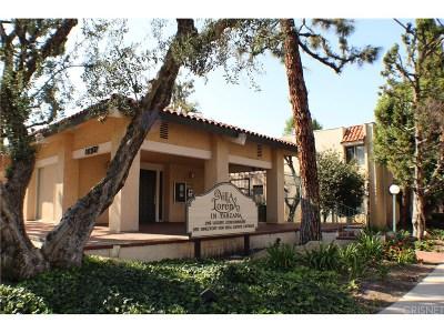 Tarzana Condo/Townhouse For Sale: 18307 Burbank Boulevard #42