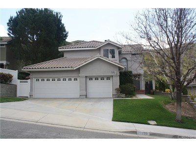 Canyon Country Single Family Home For Sale: 29756 Grandcanyon Road