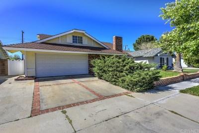 Canyon Country Single Family Home For Sale: 19620 Babington Street