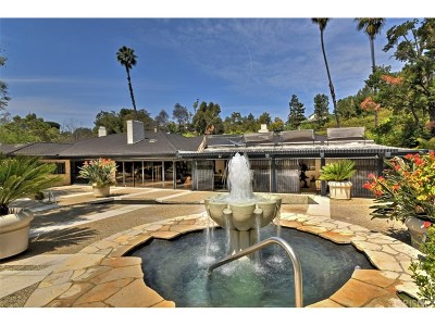 Studio City Single Family Home For Sale: 3187 Oakdell Road