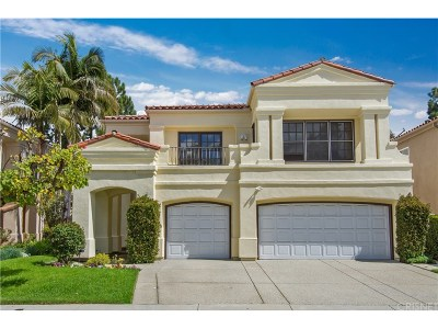 Calabasas Single Family Home For Sale: 23279 Park Basilico