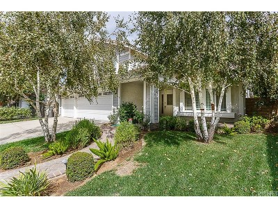 Valencia Single Family Home For Sale: 25706 Floral Court