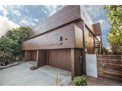 Santa Monica Condo/Townhouse For Sale: 617 Strand Street #2