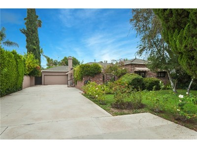 Encino Single Family Home For Sale: 15551 Hesby Street