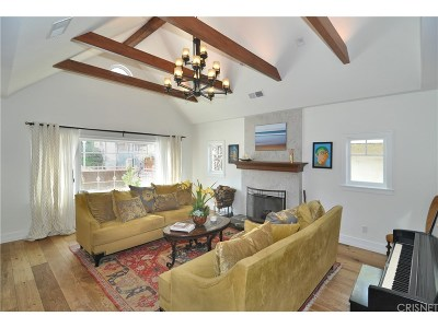 Studio City Single Family Home For Sale: 12225 Laurel Terrace Drive