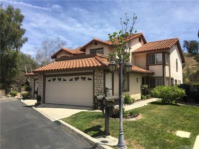 Calabasas Condo/Townhouse For Sale: 5964 Ruthwood Drive