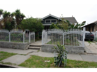 Los Angeles Single Family Home For Sale: 842 West 48th Street