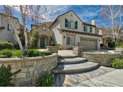 Stevenson Ranch Single Family Home For Sale: 26636 Shakespeare Lane