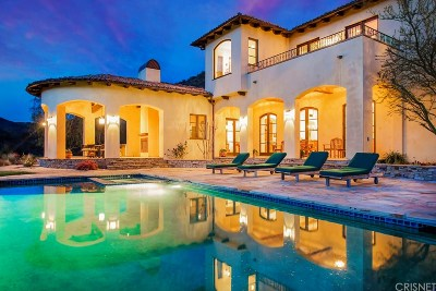 Calabasas Single Family Home For Sale: 1101 Cold Canyon Road