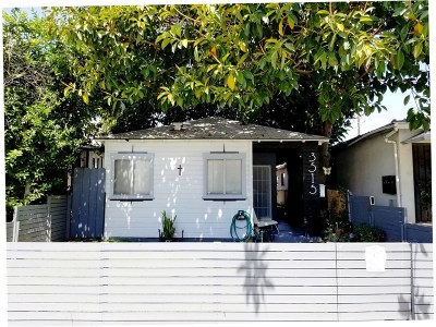 Burbank Single Family Home For Sale: 3515 West Alameda Avenue