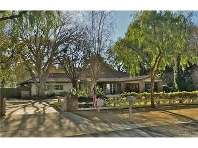 Hidden Hills Single Family Home For Sale: 23616 Long Valley Road