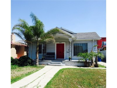 Los Angeles Single Family Home For Sale: 4322 La Salle Avenue