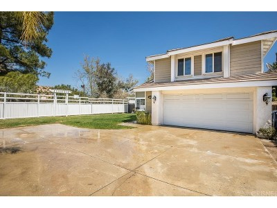 Canyon Country Single Family Home For Sale: 14825 Begonias Lane