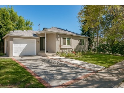 Encino Single Family Home For Sale: 17907 Martha Street
