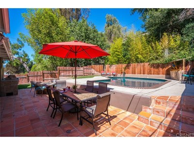 Woodland Hills Single Family Home For Sale: 21645 Dumetz