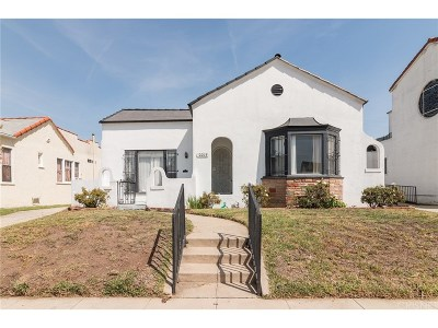 Los Angeles Single Family Home For Sale: 2013 West 71st Street