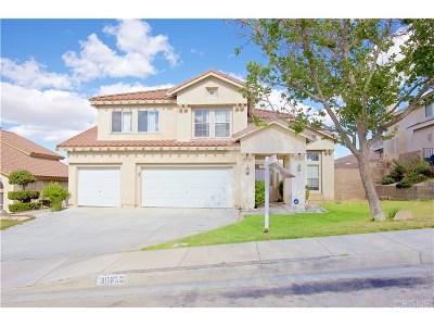 Palmdale Single Family Home For Sale: 38638 Highmeadow Drive