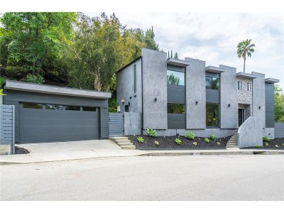 Studio City Single Family Home For Sale: 3380 Berry Drive