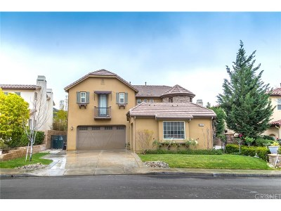 Simi Valley Single Family Home For Sale: 4052 Eagle Flight Drive