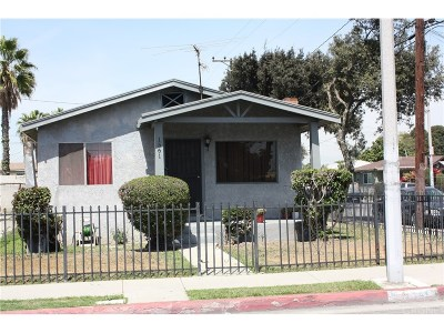 Los Angeles Single Family Home For Sale: 1561 East 75th Street