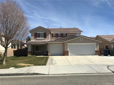 Lancaster Single Family Home For Sale: 43652 Paloma Street