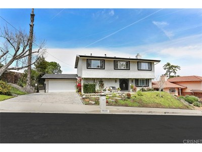 Woodland Hills Single Family Home For Sale: 23331 Aetna Street