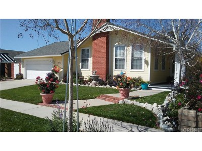 Simi Valley Single Family Home For Sale: 1593 Bridget Avenue