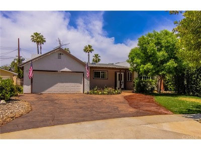 Los Angeles County Single Family Home For Sale: 7017 Vicky Avenue
