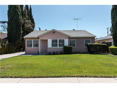 Northridge Single Family Home For Sale: 17540 Lorne Street