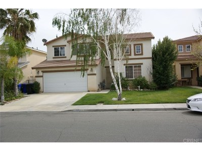 Castaic Single Family Home For Sale: 29048 San Remo Place