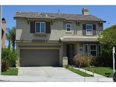 Canyon Country Single Family Home For Sale: 17443 Smoke Tree Lane
