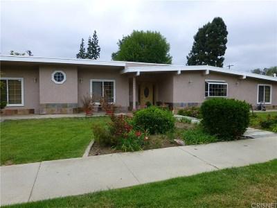 Woodland Hills Single Family Home For Sale: 22355 Burbank Boulevard