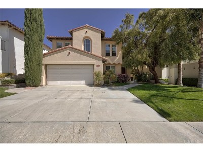 Stevenson Ranch Single Family Home For Sale: 26068 Twain Place