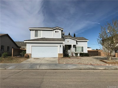 Lancaster Single Family Home For Sale: 44053 37th Street West