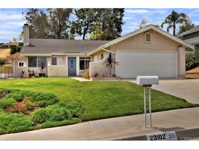 Valencia Single Family Home For Sale: 23102 Calvello Drive