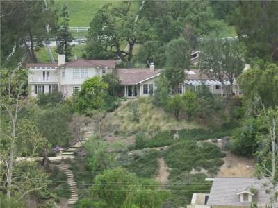 Hidden Hills Rental For Rent: 5537 Round Meadow Road
